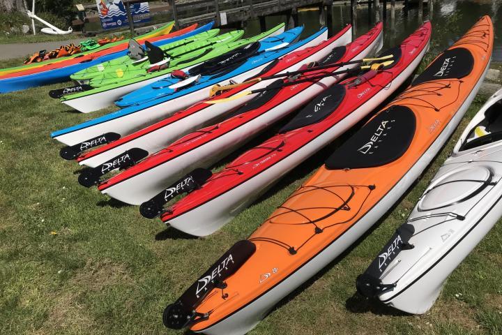 Kayak rentals, Pender Island Kayak Adventures